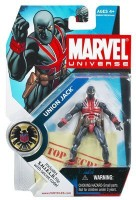 Marvel Universe Series 1 Action Figure #26 Union Jack 3.75 Inch. (Multicolor)