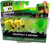 Ben 10 Ultimate Alien Mini Armodrillo/ampfibian (Multicolor)
