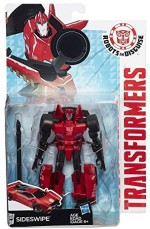 Transformers Action Figures Transformers Robots In Disguise Warriors Class Sideswipe