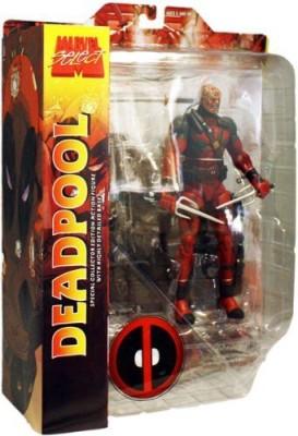 Marvel Action Figures Marvel Select Deadpool Unmasked Variant