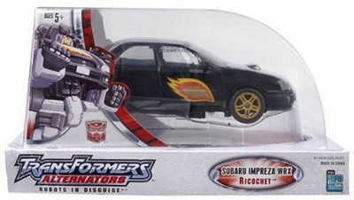 Hasbro Action Figures Hasbro Transformers Alternators Subaru Impreza Ricochet