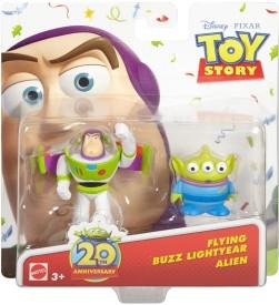 Mattel Flying Buzz Lightyear and Alien Figure