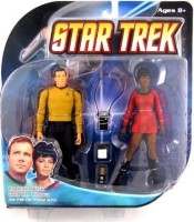 Hasbro Diamond Select Toys Star Trek The Original Series Action Figure 2-Pack Captain Kirk And Lt. Uhura (Multicolor)