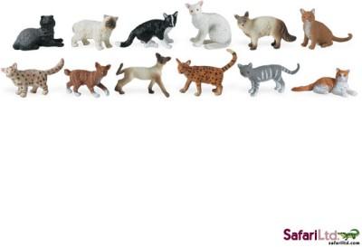Safari Ltd Action Figures Safari Ltd Toob Domestic Cats
