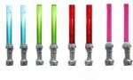 Lego Action Figures Lego Star Wars Lightsaber Silver Variety Set includes Rare Pink