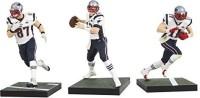 McFarlane Toys NFL New England Patriots Super Bowl Action Figure (Pack Of 3) (Multicolor)