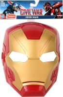 FunSkool Captian America Civil War Hero Mask - Iron Man (Multicolor)