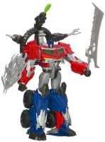 Transformers Beast Hunters Optimus Prime Action Figure (Red, Blue)