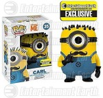 FunKo Action Figures FunKo POP Movies Despicable Me: Carl Vinyl Figure Mustache