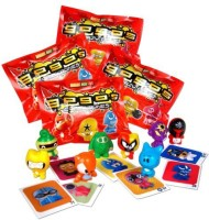 GoGo's Crazy Bones Series 1 - (4 Packs Of 3 Pieces) (Multicolor)