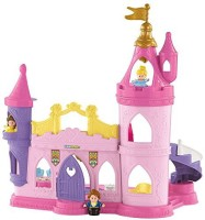 Fisher-Price Little People Disney Princess Musical Dancing Palace (Frustration Free Packaging) (Multicolor)