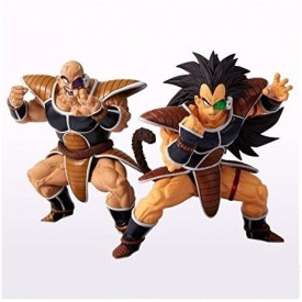 Banpresto Dragon Ball Scultures Big 5 Nappa & Raditz Set Of 2
