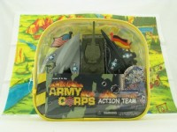 McToy Deluxe 100 Piece Military Army Play Set (Multicolor)