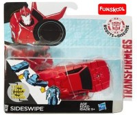 FunsKool Transformers Robots In Disguise One-Step Changers Sideswipe (Red, Black)