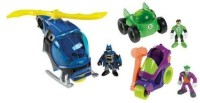 Imaginext Exclusive DC Super Friends Gift Set Imaginext DVD Included! (Multicolor)