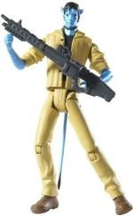 Mattel Action Figures Mattel Avatar Na'Vi Jake Human