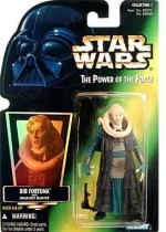Star Wars Action Figures Star Wars Power Of The Force Green Card Bib Fortuna