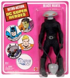 Mattel Retro Dc Super Heroes Black Manta