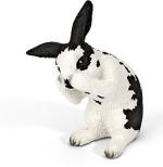Schleich Action Figures Schleich Grooming Rabbit Toy Figure