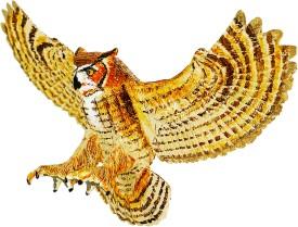 Safari Ltd Wow Great Horned Owl