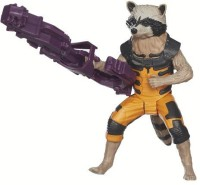 Marvel Guardians Of The Galaxy Titan Hero Series Rocket Raccoon Figure (Multicolor)