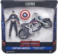 Funskool Funskool Civil War Captain America (Multicolor)