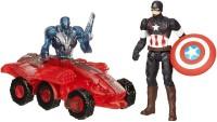 Hasbro Marvel Avengers Age Of Ultron Captain America Vs. Sub-Ultron 002 Figure Pack (Multicolor)