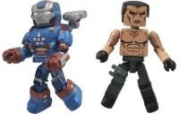Diamond Select S Series 49 Marvel Minimates Iron Man 3 Iron Patriot (Multicolor)