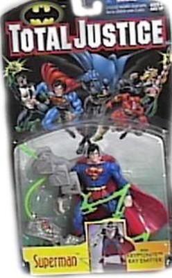 DC Comics Action Figures DC Comics Total Justice League Batman Superman