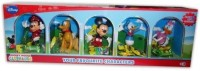 Disney Mickey Mouse And Friends Combo Set Of 5 Action Figures (Multicolor)