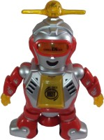 Parteet Dancing Naughty Robot With Flashing Lights & Music For Kids (Multicolor)