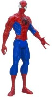 Spider-Man Marvel Ultimate Spider-man Titan Hero Series Spider-man Figure, 12-Inch (Multicolor)