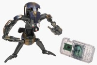 Toy Rocket Star Wars: Episode 1 Destroyer Droid Action Figure (Multicolor)