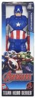 Funskool Marvel Avengers Titan Hero Series Captain America Figure (Multicolor)