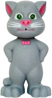 ES-KO Talking Tom Cat - Interactive Mimicry Toy For Lots Of Fun Time (Grey)