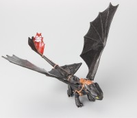 Anokhe Collections Exclusive Toothless 20 Cm Action Figure With Catapult Feature (Multicolor)