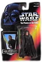 Star Wars Action Figures Star Wars Power Of The Force Jedi Knight Luke Skywalker Red Card