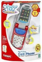 Hasbro Playskool Flip 'N Play Cell Phone - Red (Multicolor)