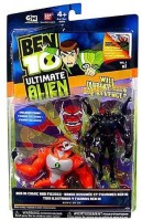 Ben 10 Ultimate Alien Six Six And Rath V.1 Pack Of 2 Action Figures (Multicolor)