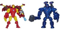 Marvel Super Hero Mashers Iron Man Vs. Iron Monger Mash Pack (Multicolor)