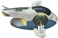 Star Wars Jango Fett's Slave I Vehicle Toy (White, Blue)
