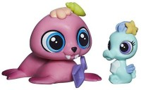 Littlest Pet Shop Pet Pawsabilities Wallace Waterman & Sally Seaforth (Multicolor)