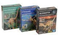 Toysmith Dig A Dino Excavation Kit 3 Pack - Series 2 (Multicolor)