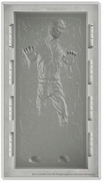 Kotobukiya Action Figures Kotobukiya Star Wars Han Solo in Carbonite Deluxe Silicone Tray