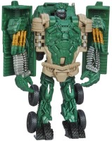 Funskool Transformers Age Of Extinction Autobot Hound One-Step Changer (Multicolor)