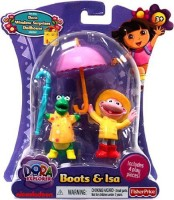 Fisher-Price Dora The Explorer Action Figure Boots Isa In Rain Gear (Multicolor)