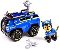 Paw Patrol Chase's Spy Cruiser, Vehicle And Figure (works With Paw Patroller)Chase's Spy Cruiser (Multicolor)