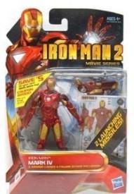 Hasbro Iron Man 2 Movie 4 Inch Iron Man Mark Iv