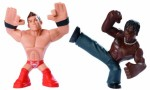 Mattel Action Figures Mattel Wwe Rumblers The Miz and R Truth