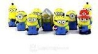Despicable Me Minions Movie Puppet Set Of 10 (Multicolor)
